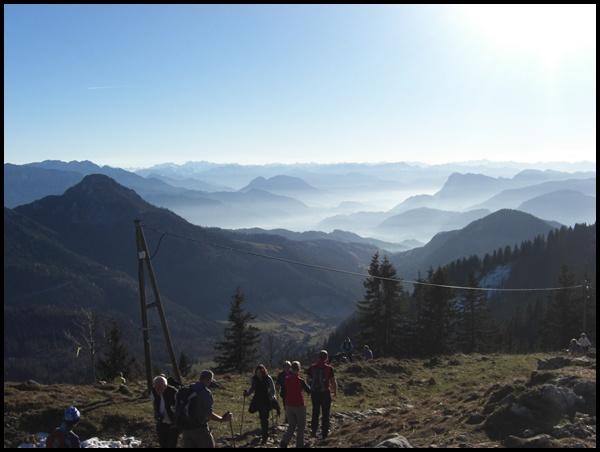 Gipfelbuch: Herbstwanderung Hochries und Karkopf