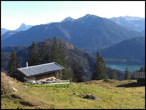 Berghütte am Staffel