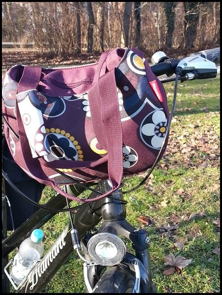 Fahrradtasche = Handtasche