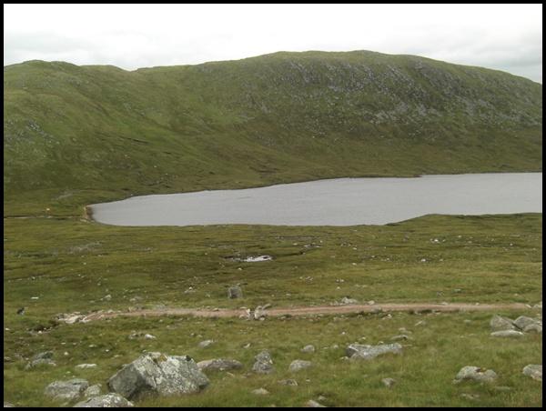 Bergsee Ben Nevis Schottland