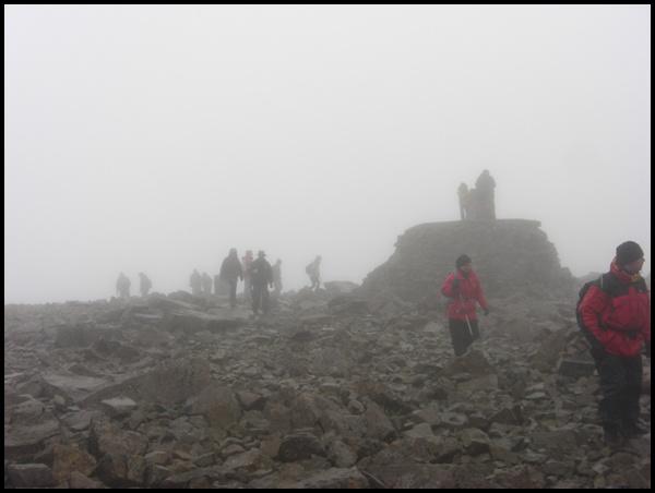 Gipfel Ben Nevis Schottland