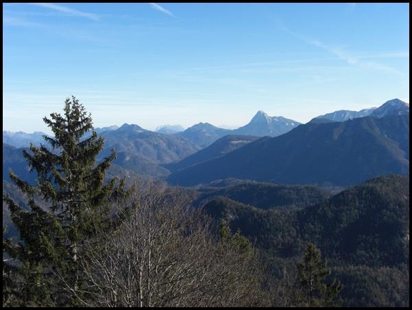 Gipfelblick Staffel