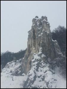 Altmühltal Kletterfelsen