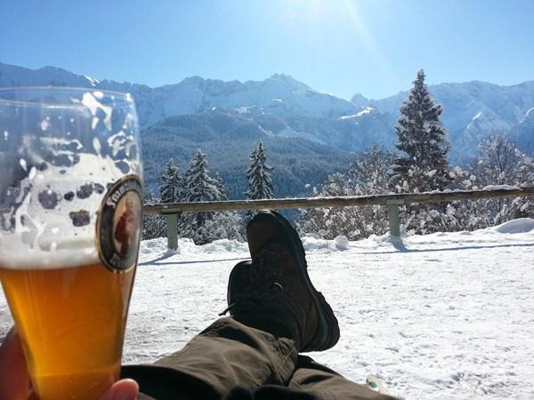 Gipfelglück am Eckbauern Wettersteingebirge