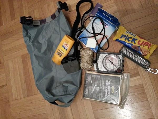 Packliste wandern, Notfall Ausrüstung