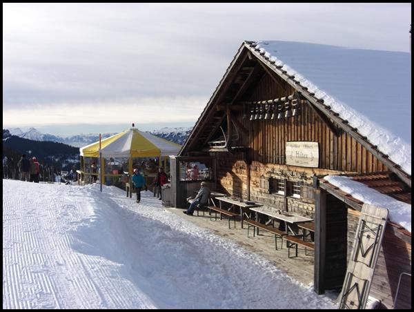 Wanderhütte Schweiz