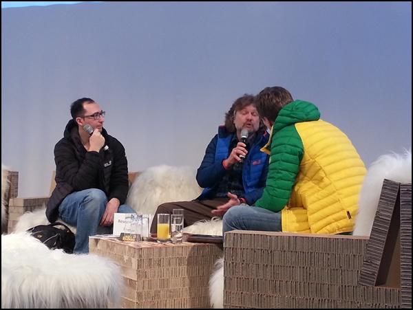 Arved Fuchs auf der Ispo