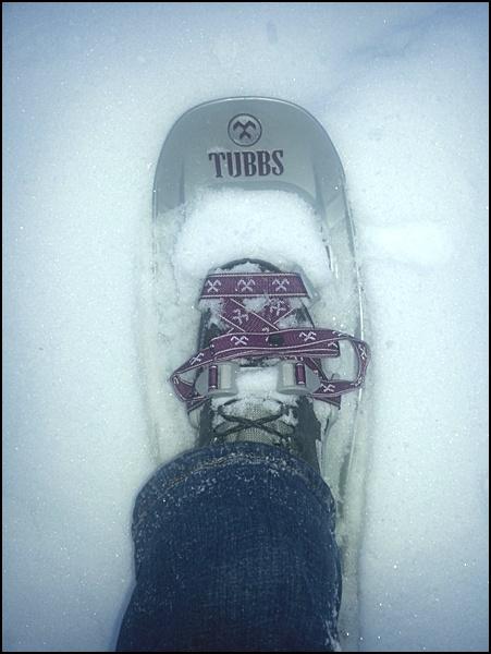 neue Schneeschuhe im Test