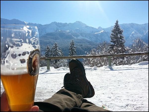 Gipfelglück am Eckbauer