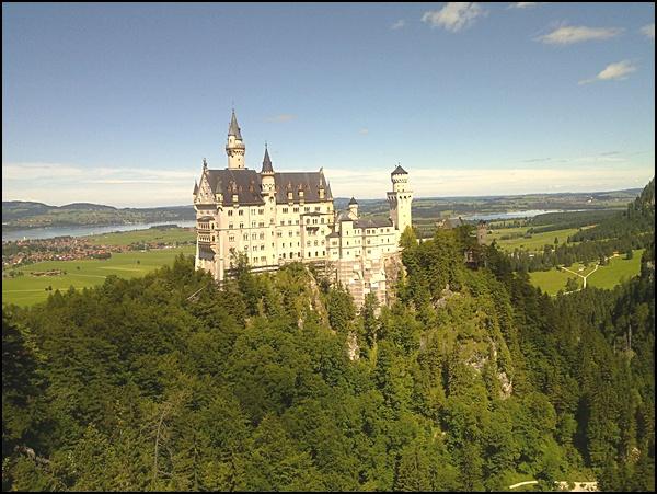 Schloss Neuschwanstein, Bild von @Griesgram999