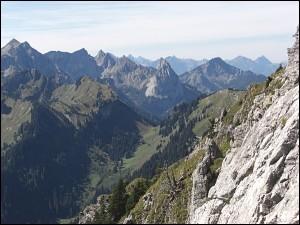 Klammspitze in den Ammergauer Alpen