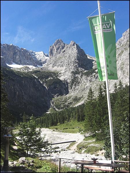 im Höllental bei Garmisch-Partenkirchen