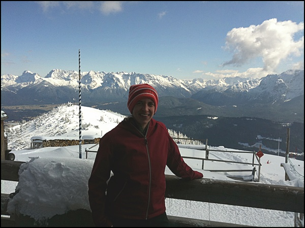 auf dem Wank bei Garmisch-Partenkirchen