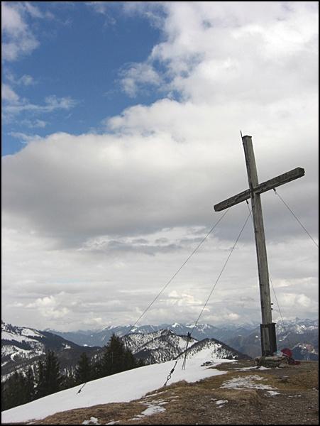 Gipfelkreuz Hirschhörnlkopf