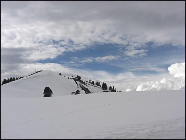 Gipfelanstieg Hirschhörnlkopf