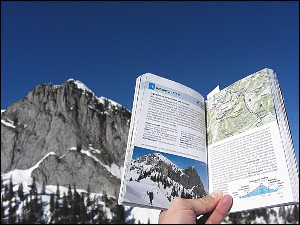 Buchtipp: Münchner Berge, ein Rother Schneeschuhführer