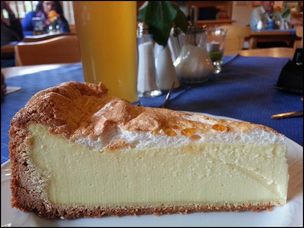 Kuchen und Weißbier