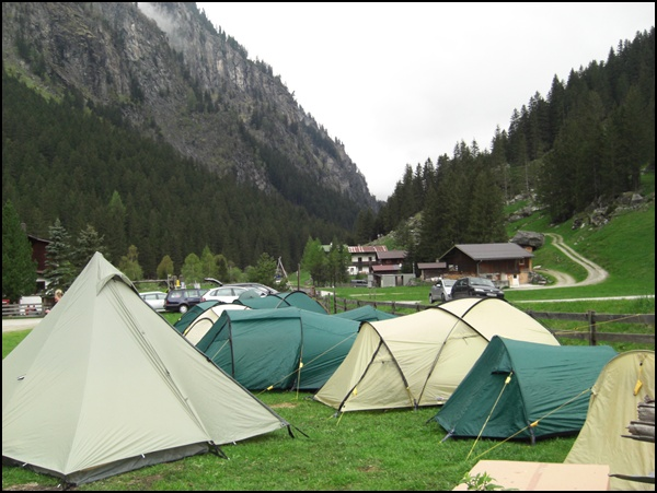 Im Zillertal – wandern, zelten und Blogger treffen