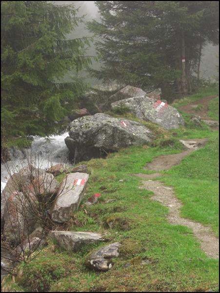 Wanderweg Zillergrund
