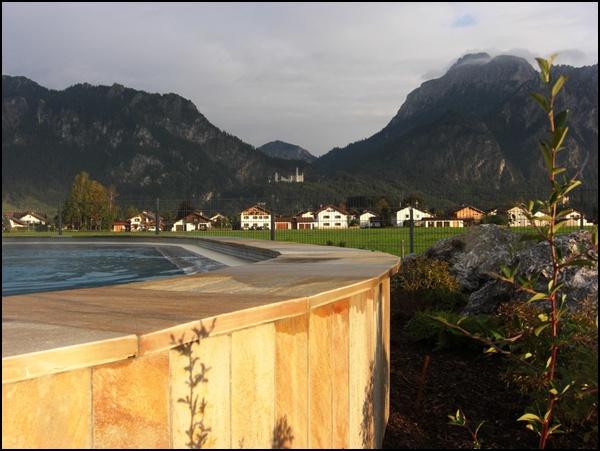 Schwimmen mit Neuschwansteinblick...