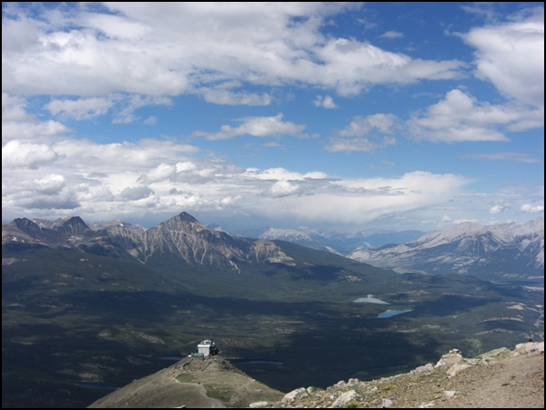 Whistlers Mountain Alberta