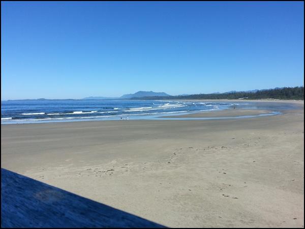 Strand im Pacific Rim National Park