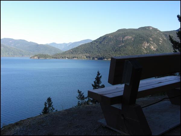 am Howe Sound, zwischen Squamish und Horseshoe Bay