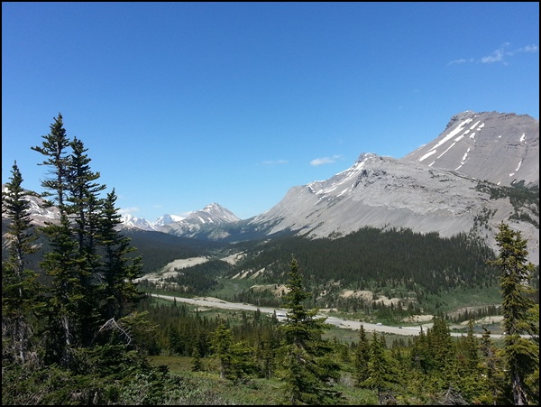 Parker Ridge Trail Alberta