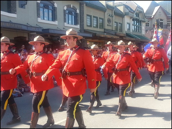 Canada Day Parade in Banff