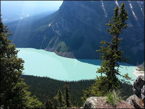 Beehive und Lake Louise