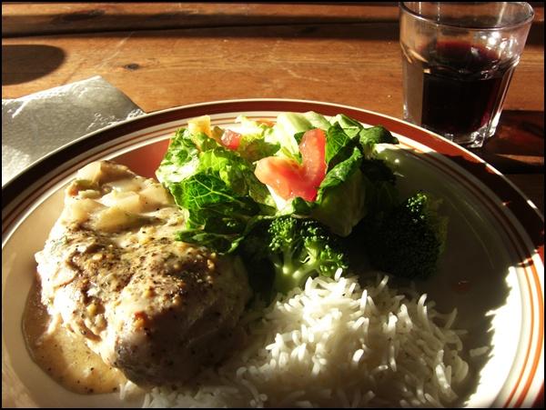 Abendessen bei der Wells Gray Hüttentour