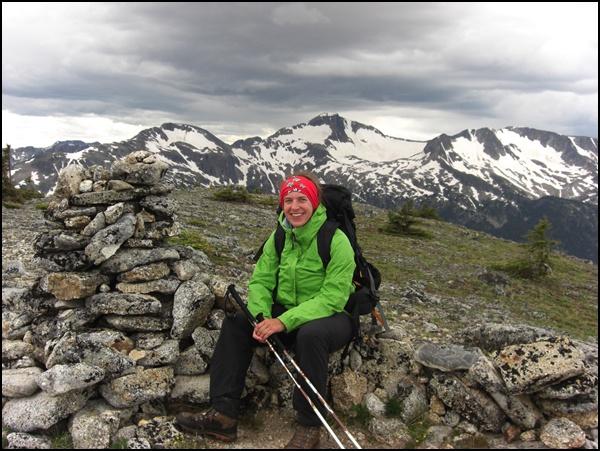 Gipfelglück am Table Mountain in Kanada