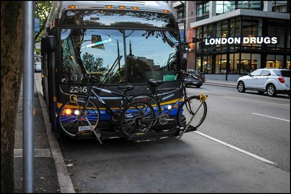 Fahrrad-Transport Vancouver