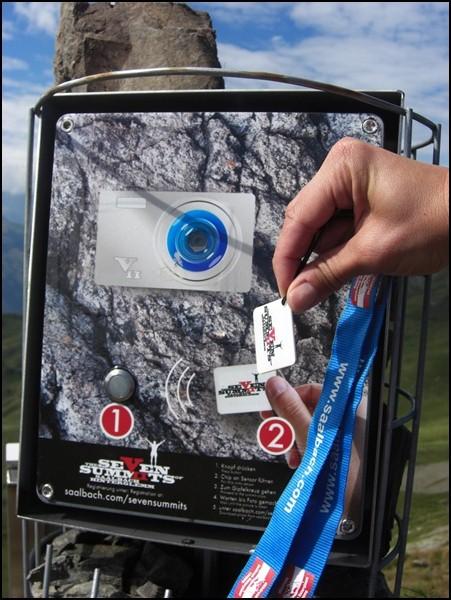Chip und Automat bei den 7 Summits