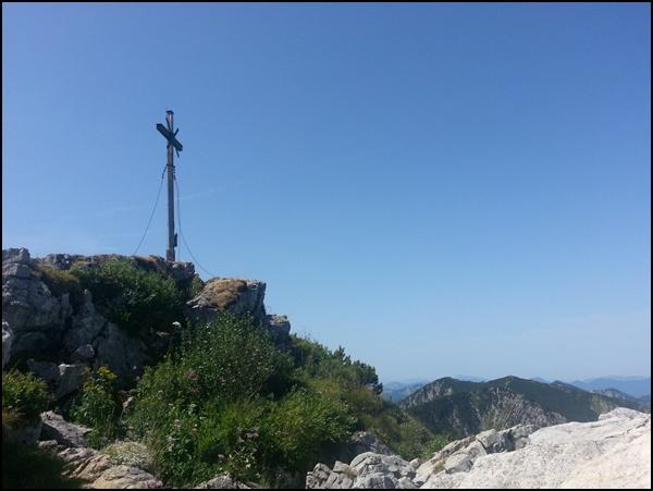 Aiplspitz Gipfelkreuz