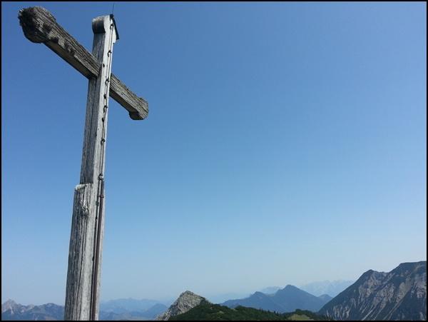 Gipfelkreuz Jägerkamp
