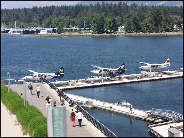 Wasserflugzeuge und Stanley Park