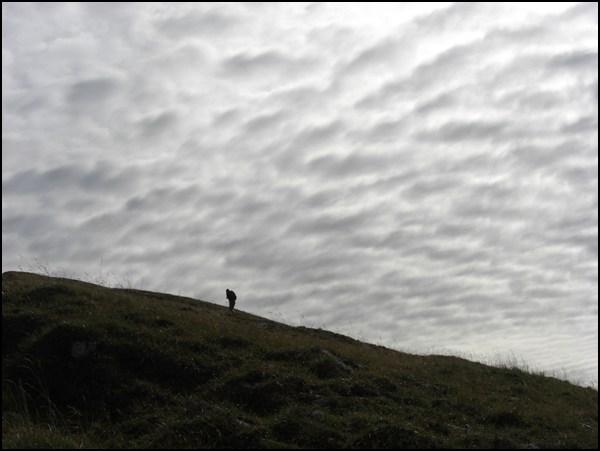 Wanderer am Schafreuther