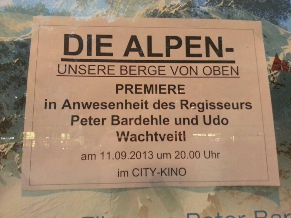 alpen plakat