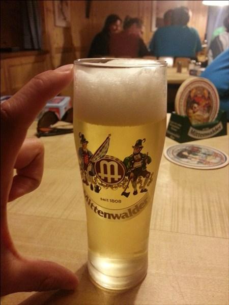 Absacker-Bierchen Krottenkopfhütte