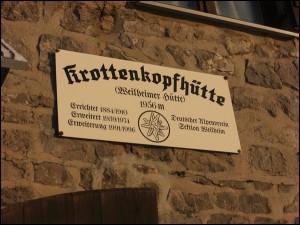 Krottenkopfhütte