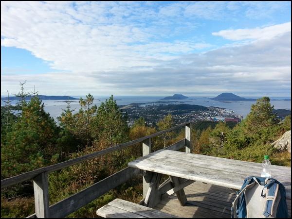 Brandsoyasen Wanderung Norwegen