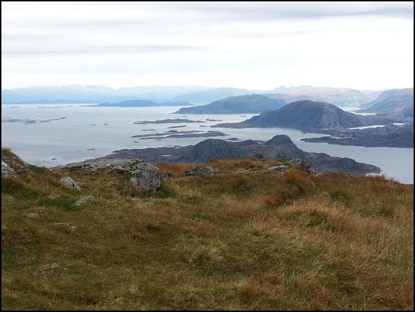 Gipfelblick vom Alden