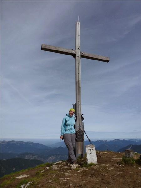 Gipfelglück am Schafreuter