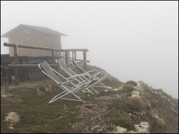 am Monte Baldo über dem Gardasee
