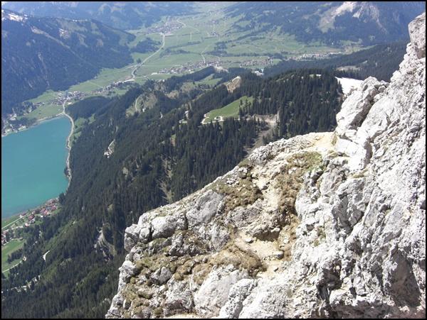 Friedberger Klettersteig : Friedberger klettersteig gipfelglück