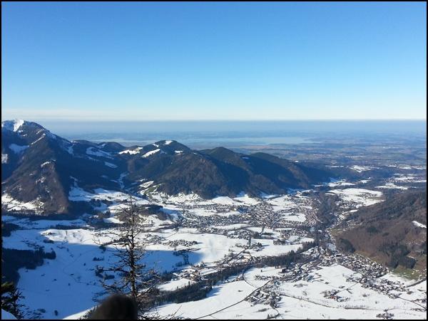 Gipfelbuch Chiemgau: Winterwanderung auf den Rauschberg