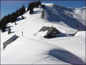 Schneeschuhwanderung Bayern