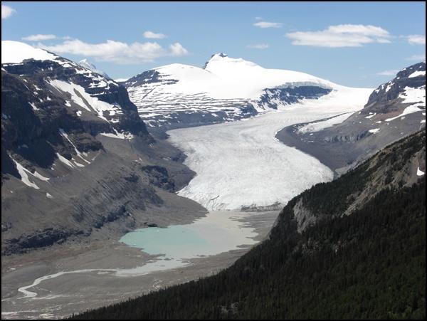 Icefields Parway in Kanada