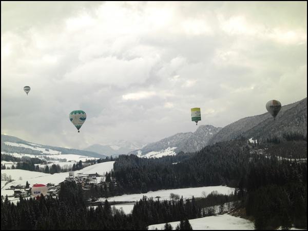 Alpin Balloning Kaiserwinkl